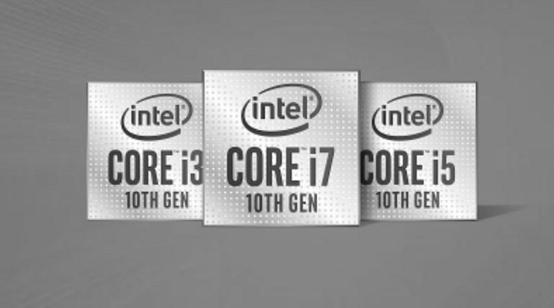 Bild Intel: 10. Core Prozessorgeneration