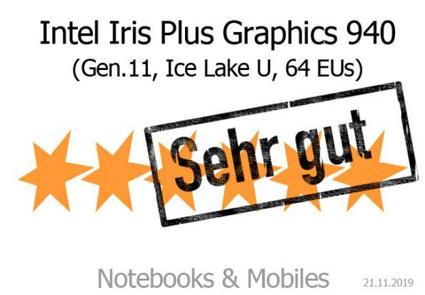 Intel Iris Plus Graphics 940