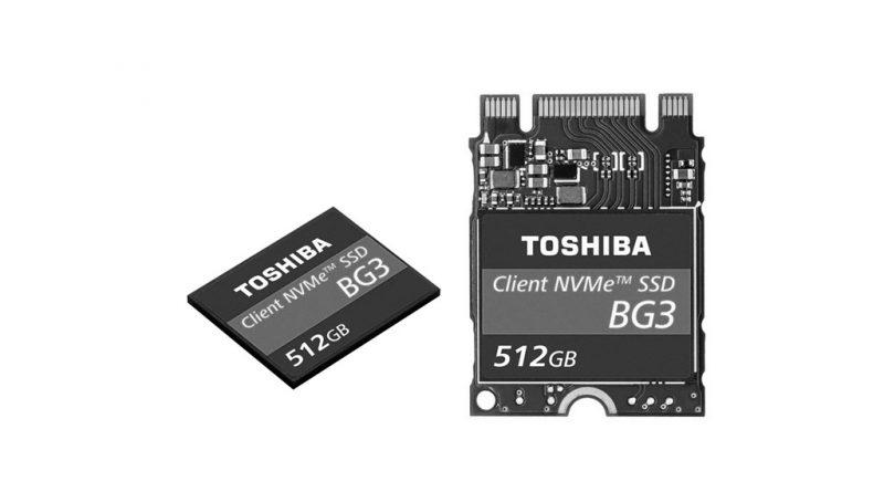 Bild Toshiba/ KIOXIA: Toshiba BG3