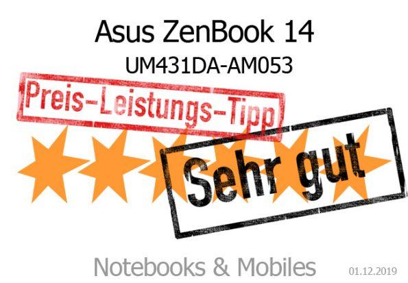 Asus ZenBook UM431DA