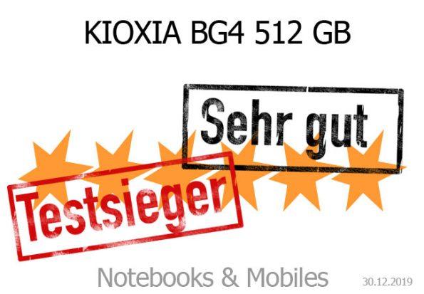 KIOXIA BG4 M.2-2230