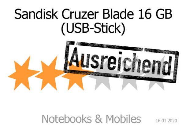 Sandisk Cruzer Blade USB-Stick