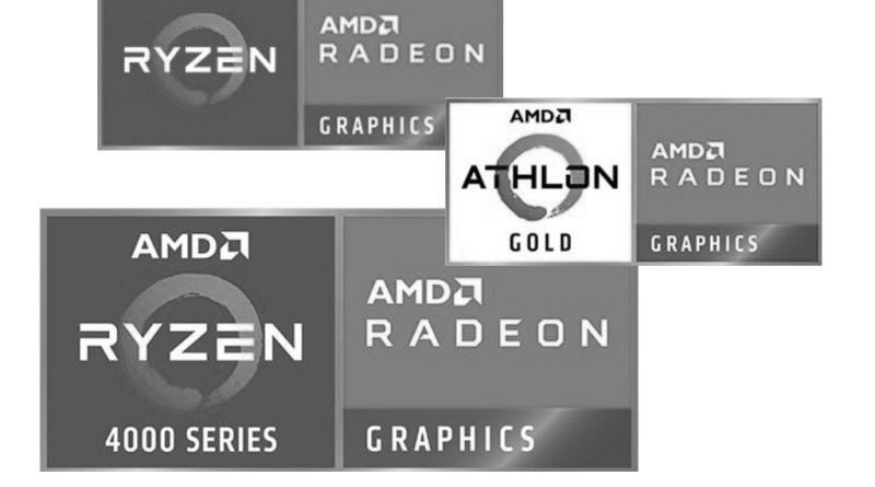 Logos AMD: Die besten AMD-Laptops.