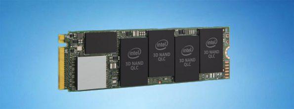 Bild Intel: Intel SSD 660p.