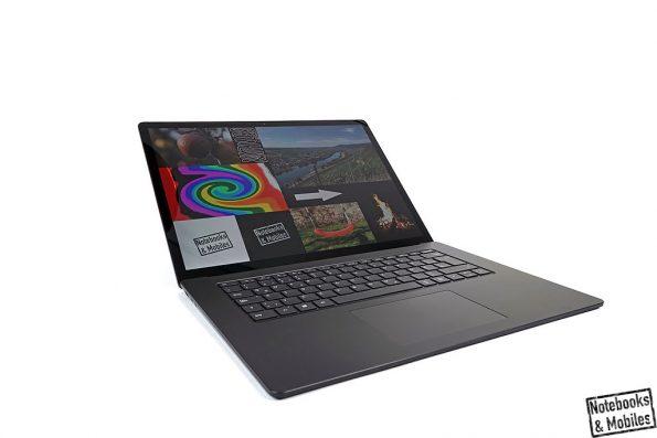 Microsoft Surface Laptop 3 mit AMD Radeon Vega 9.
