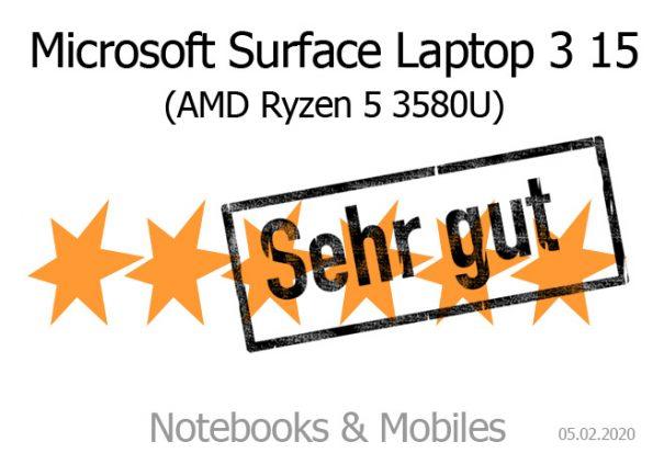 Microsoft Surface Laptop 3 15 Zoll