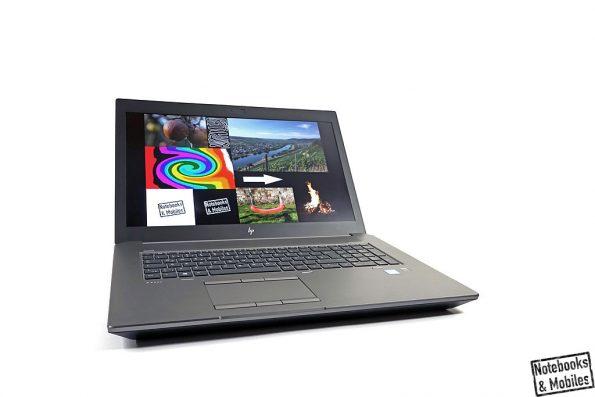 HP ZBook 17 G6 mit Nvidia Quadro RTX 4000.