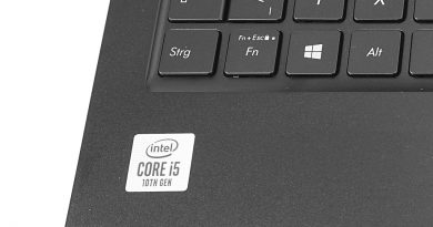 Intel Core i5-10210U im Asus ZenBook 15 UX533FAC