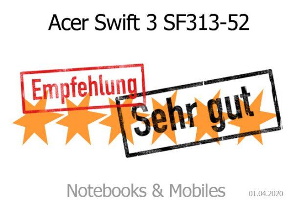 Acer Swift 3 SF313-52-52-AS