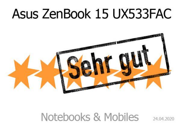 Asus ZenBook 15 UX533FAC