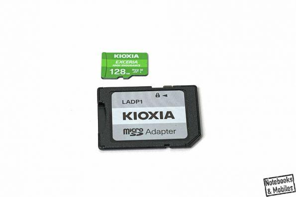 MicroSD-Speicherkarte von KIOXIA