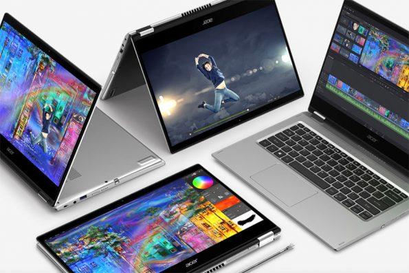 Bild Acer: Acer Spin 3 gefällt als günstiges Convertible mit toller Ausstattung.
