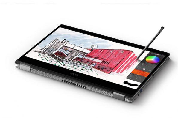 Bild Acer: Acer Spin 3 mit Touch- und Digitizer-Eingabe.