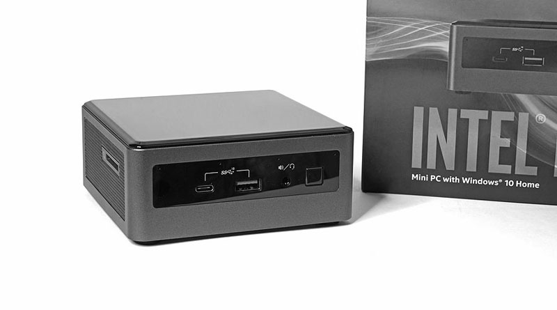 Intel NUC mit Intel Core i7-10710U.
