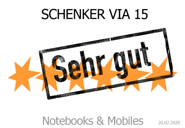Schenker VIA 15