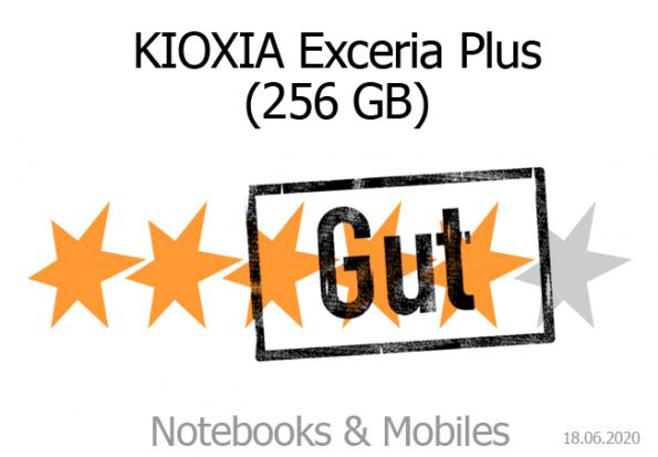 KIOXIA SDXC-Speicherkarte.