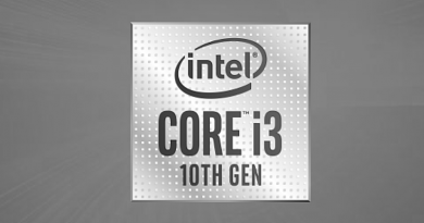 Bild Intel: Intel Core i3 der 10. Generation