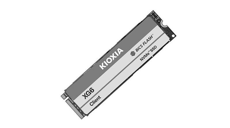 Bild KIOXIA: KIOXIA XG6 im Test bei Notebooks und Mobiles.