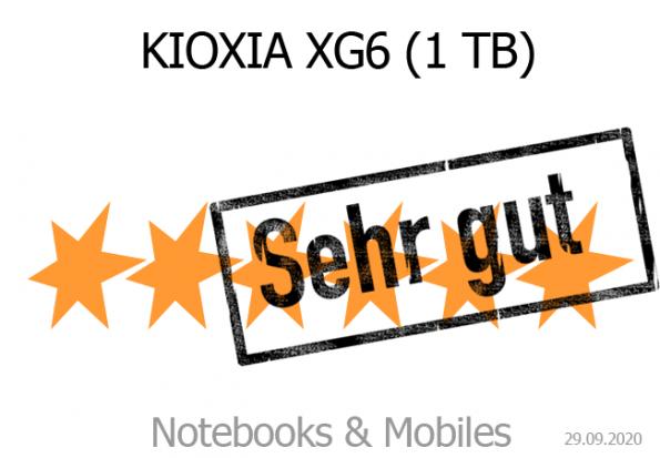KIOXIA XG6