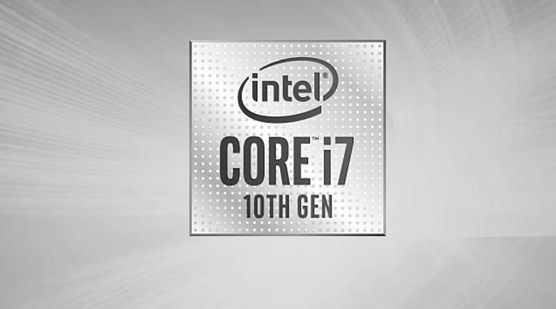 Bild Intel: Intel Core i7-10750H.