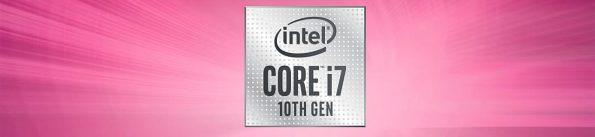 Bild Intel: Comet Lake i7