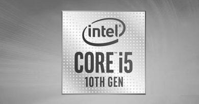 Bild Intel: Intel Core i5-10300H.