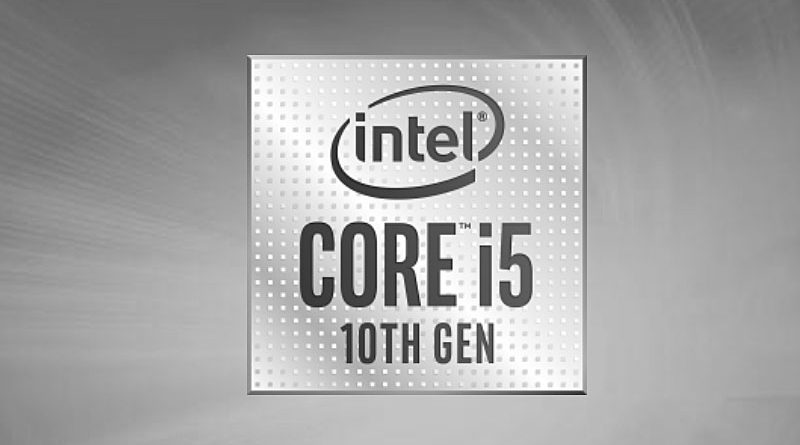 Bild Intel: Intel Core i5-10300H.