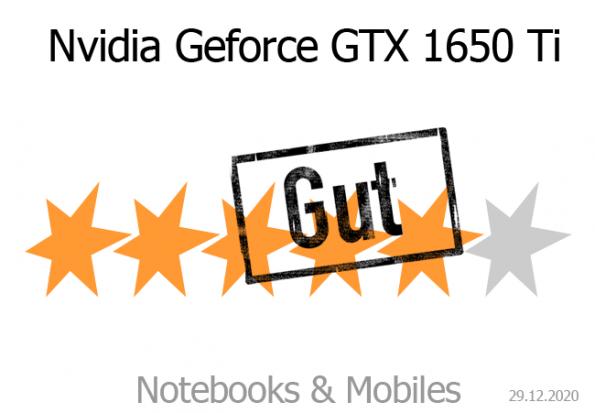 Nvidia Geforce GTX 1650 Ti Mobile