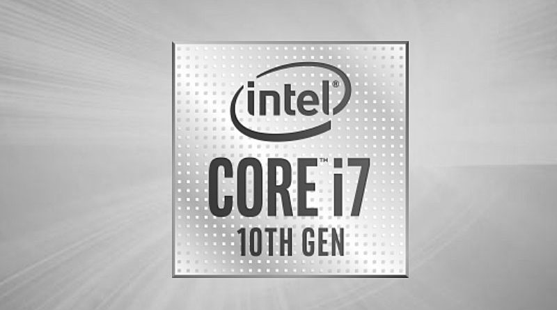 Bild Intel: Intel Core i7-10610U.