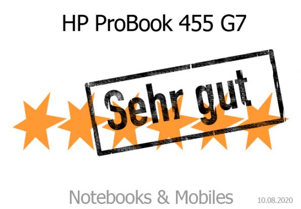 HP ProBook 445 und 455 G7